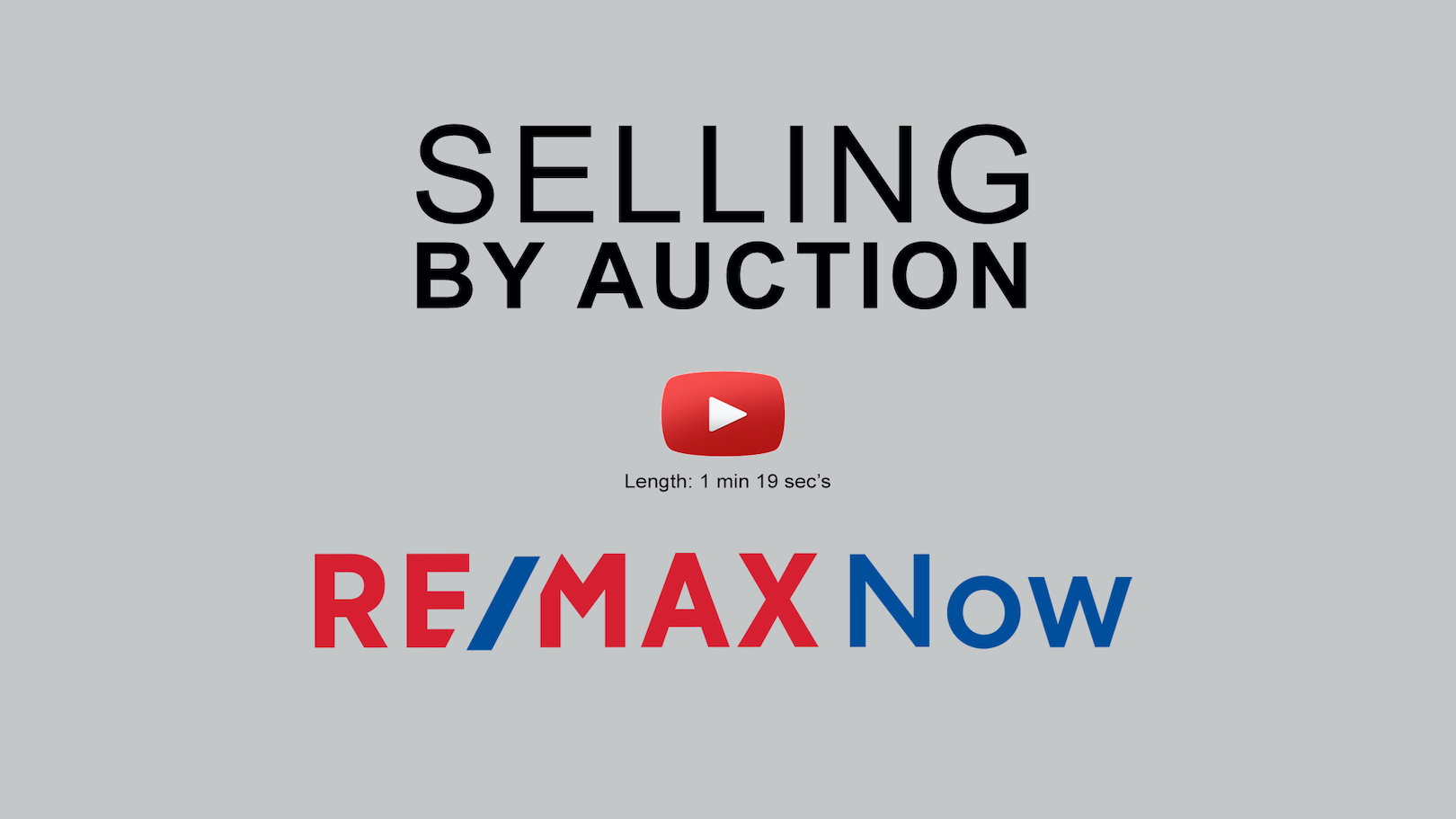 Selling by Auction